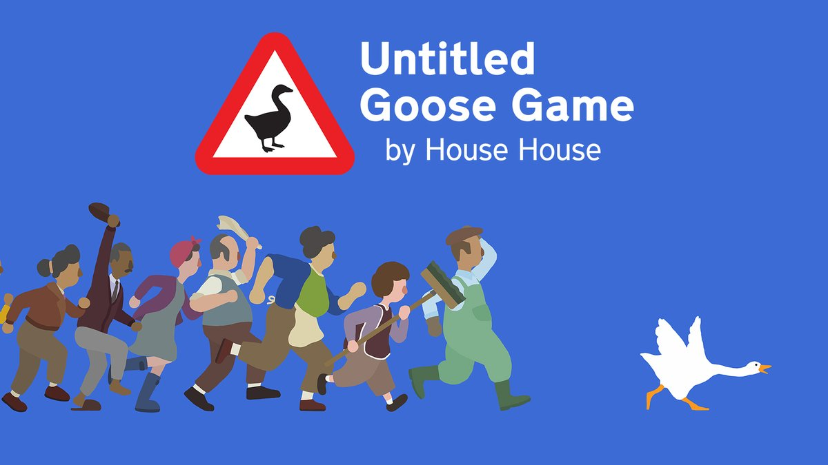 Untitled Goose Game: le oche cattive invadono Switch il 20 Settembre 1