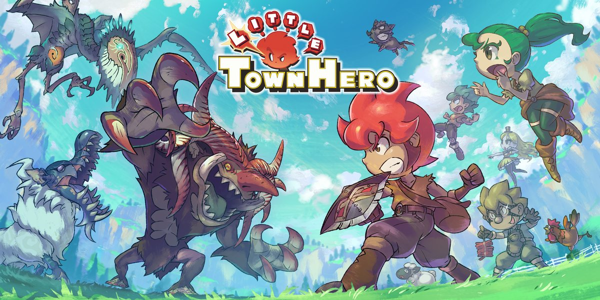 "Little Town Hero: un RPG ""ristretto"" 1"